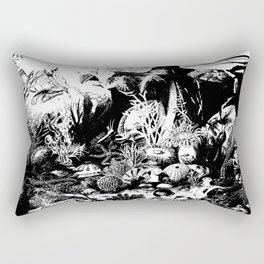 Ocean Life II Rectangular Pillow