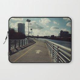 river walkin' Laptop Sleeve