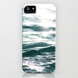 Crystal Sea // Horizontal iPhone Case