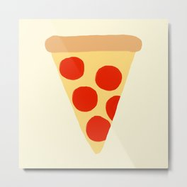 Pizza Slice Metal Print