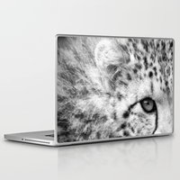 cheetah Laptop & iPad Skins featuring Cheetah by Mark Nelson