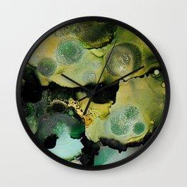 Citrine Moss Wall Clock