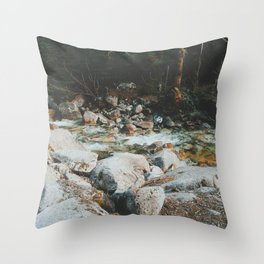 Shannon Falls Creak Throw Pillow