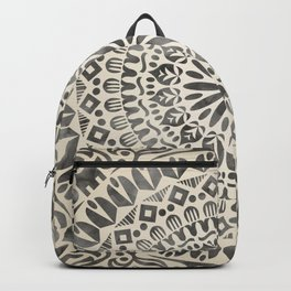 mandala13w Watercolor Mandala Backpack