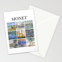 Monet - Collage Stationery Cards