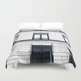 coco boutique paris building Duvet Cover