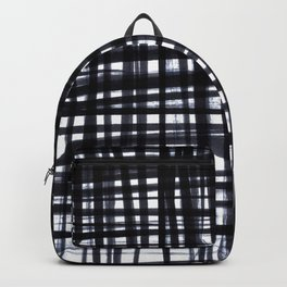 Brushed Check Backpack