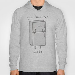 I'm Beautiful Inside Hoody