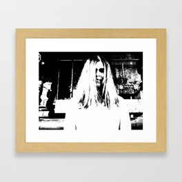 Lady in White (4 of 7) Framed Art Print