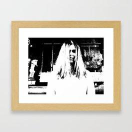 Lady in White (4 of 7) Framed Art Print