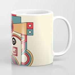 aztec mayan mask Coffee Mug