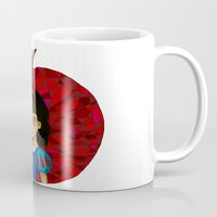 ruby Mugs featuring Ruby. by Mickey Spectrum