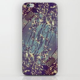 Flower Flip iPhone Skin