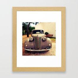1941 Fiat Framed Art Print