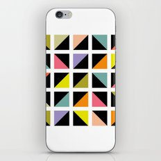 Triangle fragment pattern iPhone & iPod Skin