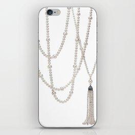 White Pearl iPhone Skin