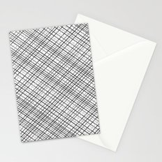 Weave 45 Black and White Stationery Cards