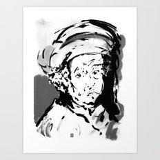 Rembrandt #2 Art Print