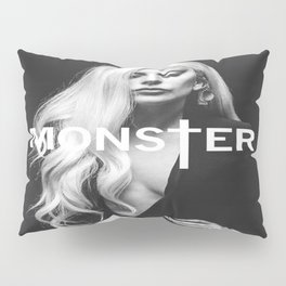 Lady Gaga's Portrait Monster Pillow Sham