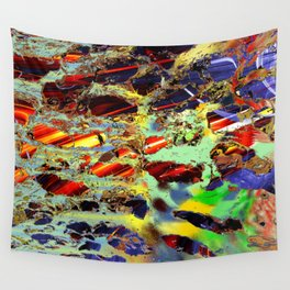 some birch color pattern Wall Tapestry
