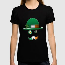 Irish Flag Face. T-shirt