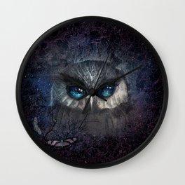 MOON BLINKED Wall Clock