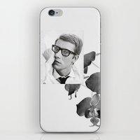 ysl iPhone & iPod Skins featuring Yves by Grace Ban