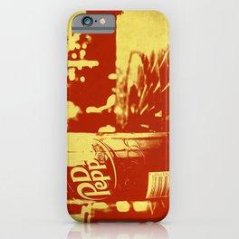 Pop Dr. Pepper iPhone Case