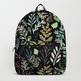 Dark Botanic Backpack