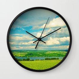 Seneca Lake Wine Road Wall Clock