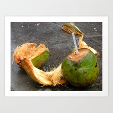 Lime in the Coconut Art Print