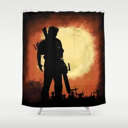 Original Wicked Shower Curtain