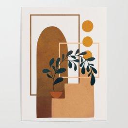 Modern Abstract Art 50 Poster