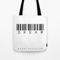 barcode DREAM Tote Bag