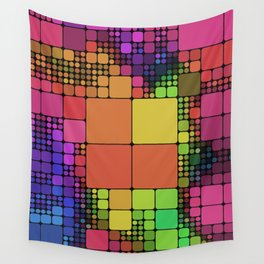 DISCO GEOMETRY  Wall Tapestry