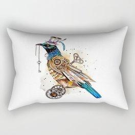 Steampunk Tui Bird  Rectangular Pillow