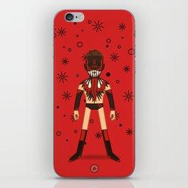 Demon King (Pro Wrestler Illustration) iPhone Skin