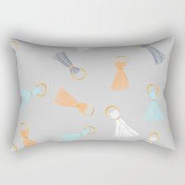 Tassel Hassle Rectangular Pillow