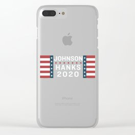 2020 Johnson Hanks Clear iPhone Case
