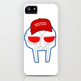 Make America Doom! Again iPhone Case
