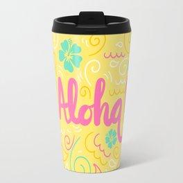 Spring Aloha! Travel Mug
