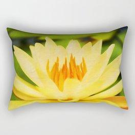Nelumbo Lutea II Rectangular Pillow