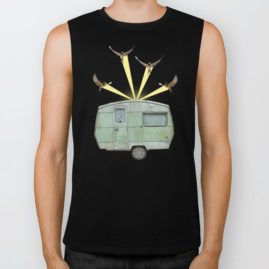 The best way to travel Biker Tank
