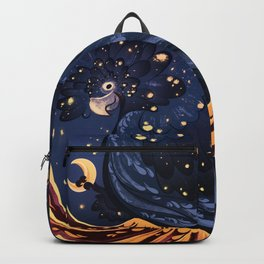 Postage Stamp Red-tailed black cockatoo Backpack