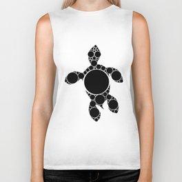 Turtle Dots - Aboriginal Art Biker Tank