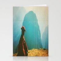peru Stationery Cards featuring PERU by Camille Defago