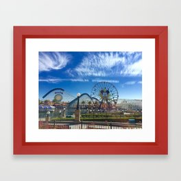 California Adventure: Mickey's Fun Wheel Framed Art Print