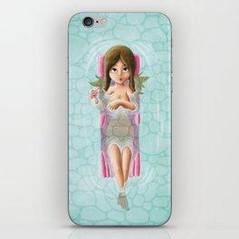The girl next door iPhone Skin