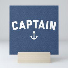 Captain Nautical Quote Mini Art Print