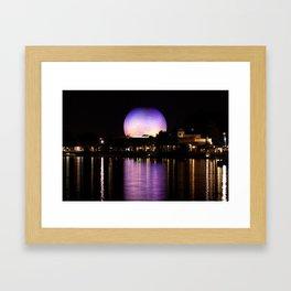 Epcot Theme Park, Florida Framed Art Print